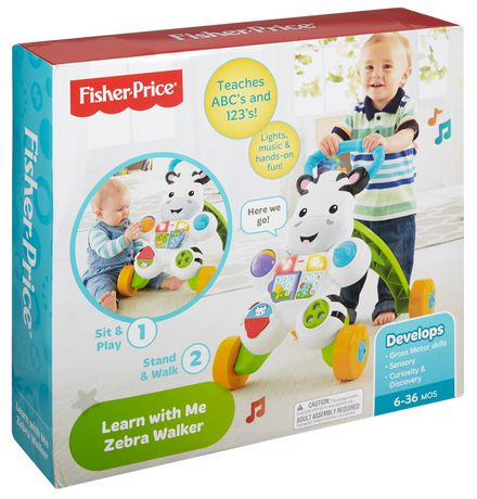 Fisher-Price Learn with Me Zebra Walker Playset - English Edition - image 9 of 9