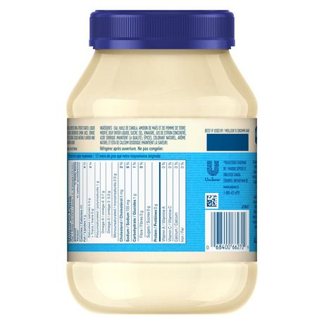 Hellmann's 1/2 The Fat Mayonnaise Dressing - image 3 of 7