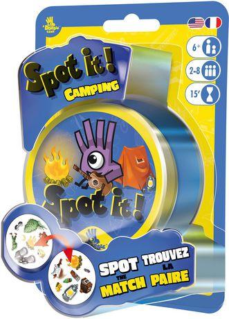 SpotIt! camping game
