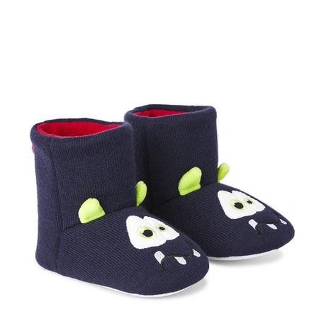 George Boys' Monster Bootie Slippers - image 2 of 4