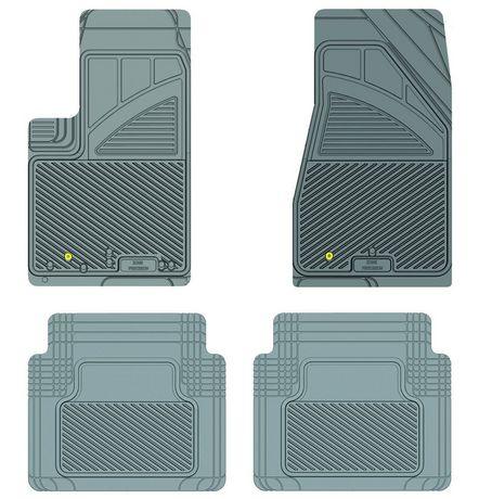 Ensemble de 4 tapis Kustom Fit pour Jeep (Gris) - image 7 de 9