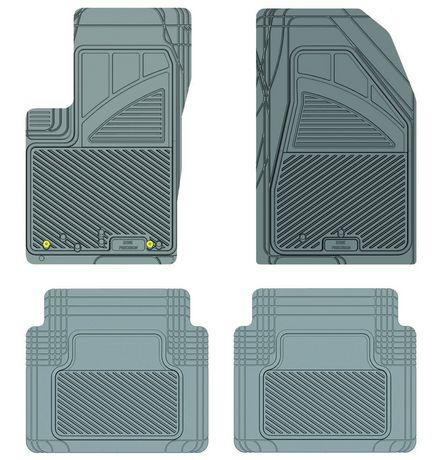 Ensemble de 4 tapis Kustom Fit pour Jeep (Gris) - image 1 de 9