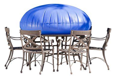 Mtr09090 housse duck covers pour table et chaise ronde for Chaise pour table ronde
