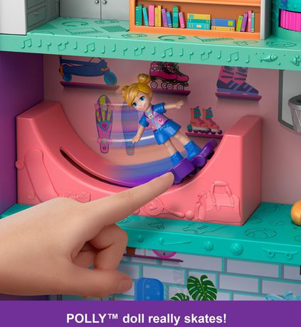 Poly Pocket Pollyville Mega Mall Playset - image 5 of 9
