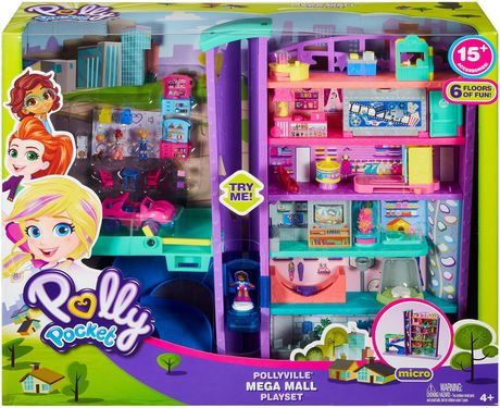 Poly Pocket Pollyville Mega Mall Playset - image 6 of 9