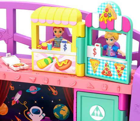 Poly Pocket Pollyville Mega Mall Playset - image 7 of 9