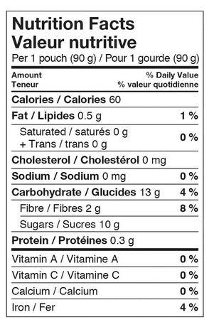 Materne GoGo squeeZ Apple Fruit Snack - image 2 of 2