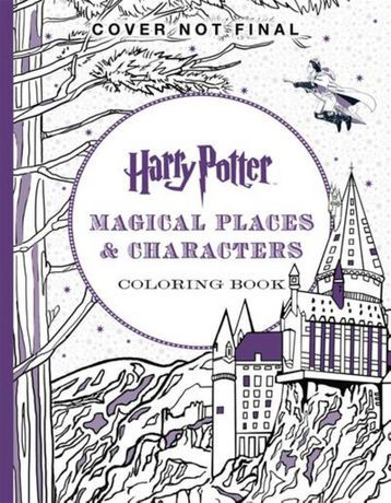 Colour By Number Harry Potter : Harry potter magical places & characters colouring book walmart.ca