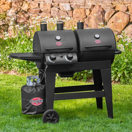 Char-Griller Dual 2-Burner Gas/Charcoal Grill - image 2 of 6