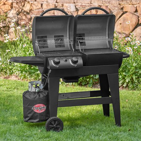 Char-Griller Dual 2-Burner Gas/Charcoal Grill - image 3 of 6