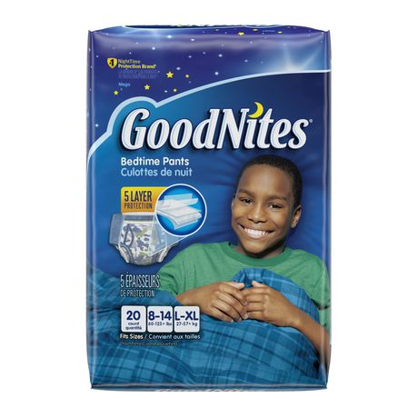 0fe3113f3a Goodnites Bedtime Bedwetting Underwear