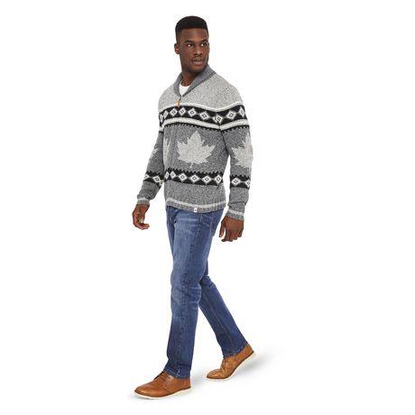 Canadiana Men's Shawl Collar Sweater - image 5 of 6