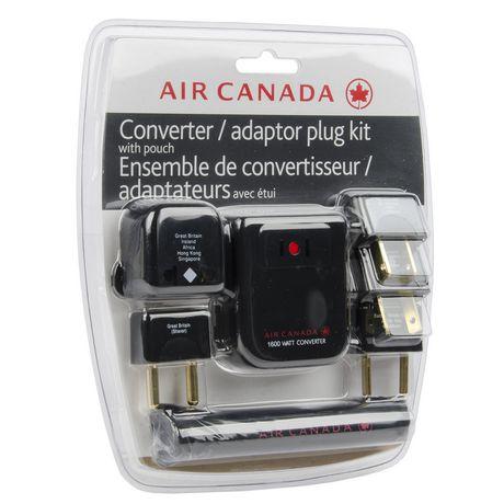 Air Canada Converter Adapter Set Walmart Ca