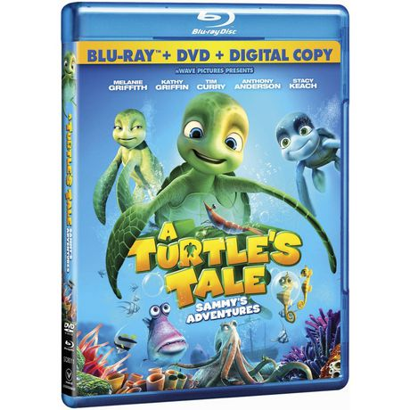 Film A Turtle's Tale - Sammy's Adventures (Blu-ray + DVD) (Anglais) - image 1 de 1