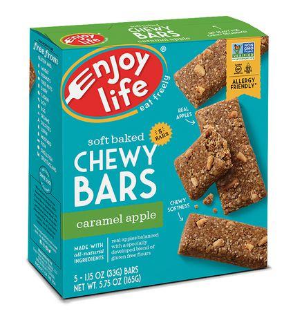 ENJOY LIFE Gluten Free Caramel Apple Chewy Breakfast Bars ...