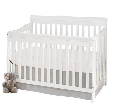 concord baby carson 4 in 1 white convertible crib walmart canada. Black Bedroom Furniture Sets. Home Design Ideas