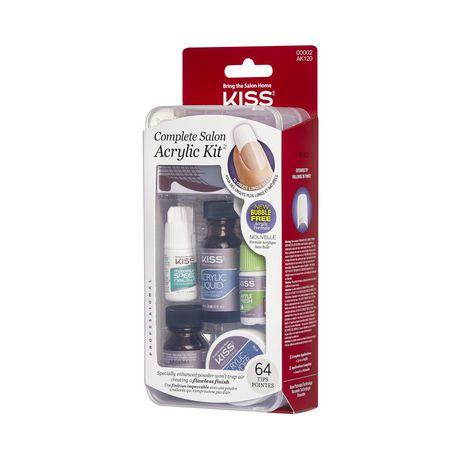 kiss acrylic kit  complete salon kit  walmart canada