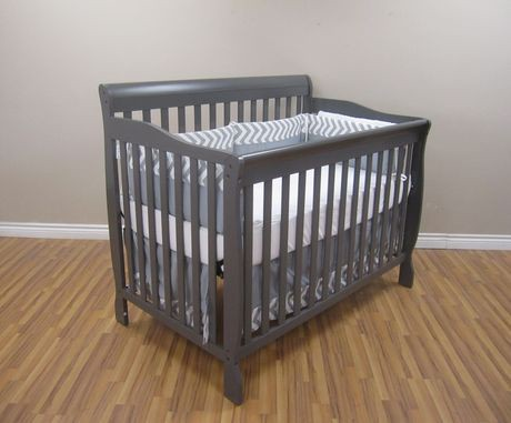 Concord Baby Carson 4 In 1 Dark Grey Crib Walmart Canada