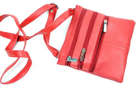 Champs Leather Zipper Sling Bag | Walmart.ca