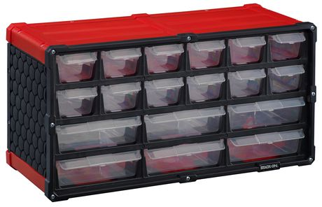 Stack On 18 Drawer Storage Cabinet Walmart Canada