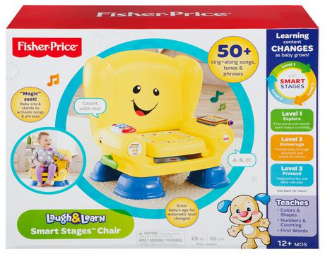 Fisher Price Music Laugh & Learn Chair - YouTube