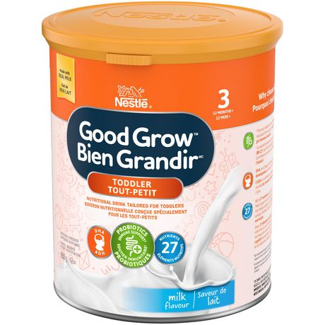 NESTLÉ GOOD GROW Stage 3 Nutritional Toddler Drink Milk Flavour - image 7 of 9