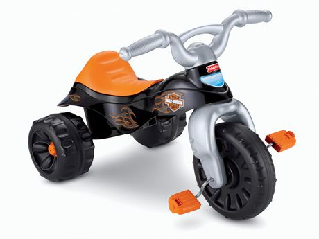 Fisher-Price Harley-Davidson Motorcycles Tough Trike - image 1 of 8