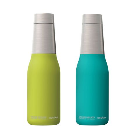 5add50e410 Asobu by ADNART Oasis Vacuum Insulated Stainless Water Bottle Set of 2    Walmart Canada