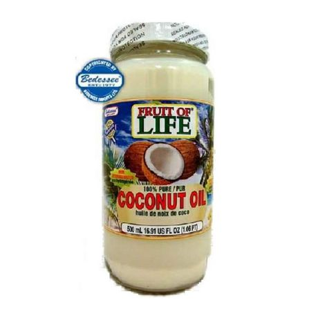 fruit of life 100 pure coconut oil. Black Bedroom Furniture Sets. Home Design Ideas