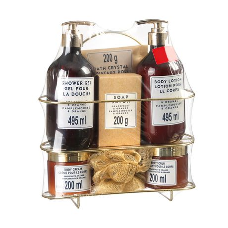 Luxe Bath Gift Set in Wire Basket - image 1 of 1