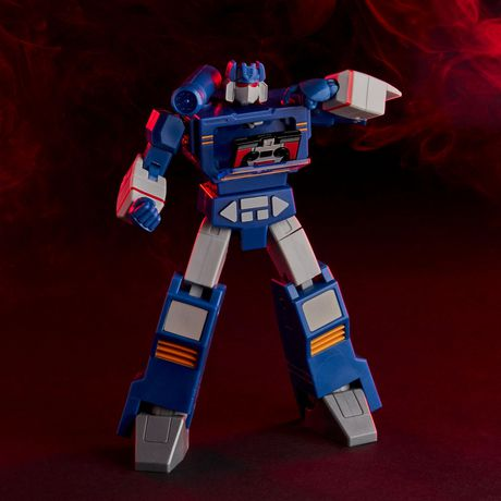 Transformers R.E.D. [Robot Enhanced Design] The Transformers G1 Soundwave, Non-Converting Figure - Ages 8 and Up, 6-inch - image 5 of 7