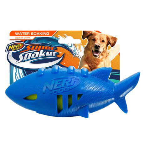 Ballon de football Super Soaker Nerf Dog en forme de requin - image 1 de 3