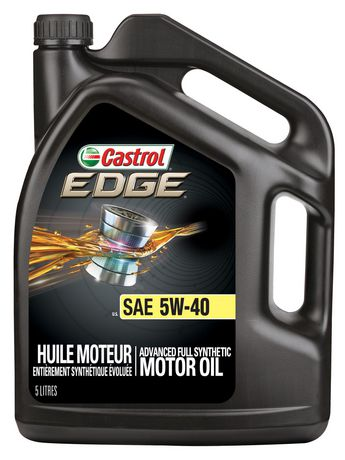 Velsete Castrol EDGE 5W40 Full Synthetic 5 L | Walmart Canada PI-49