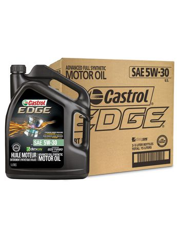 Castrol EDGE 5W30 Full Synthetic 5L Case Pack - image 1 of 6