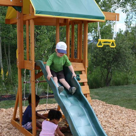 Big Backyard Meadowvale II Wooden Play Set   F24035