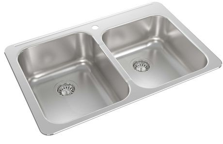 Wessan One And A Half Bowl Kitchen Sink   Walmart Canada