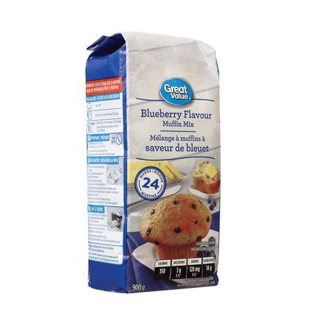 Mélange à muffins aux bleuets Great Value - image 2 de 2