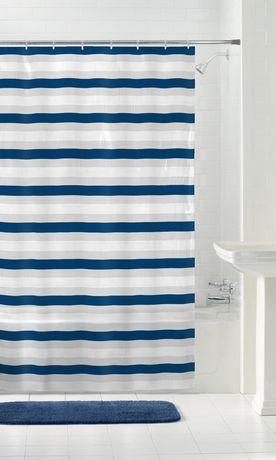MAINSTAYS Peva Shower Curtain