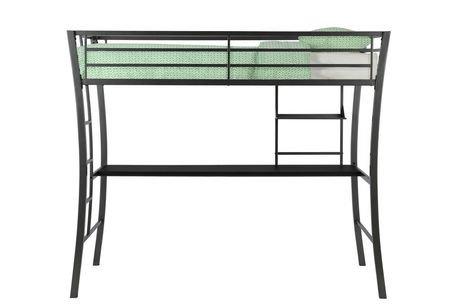 lit mezzanine une place avec bureau avenue greene metropolis walmart canada. Black Bedroom Furniture Sets. Home Design Ideas