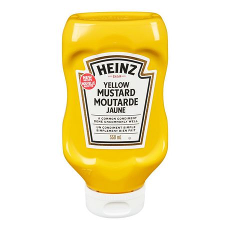 9077044beb3c Heinz Yellow Mustard - image 1 of 2 ...