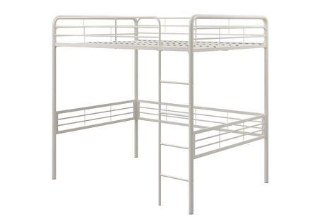 lit mezzanine en m tal deux places walmart canada. Black Bedroom Furniture Sets. Home Design Ideas