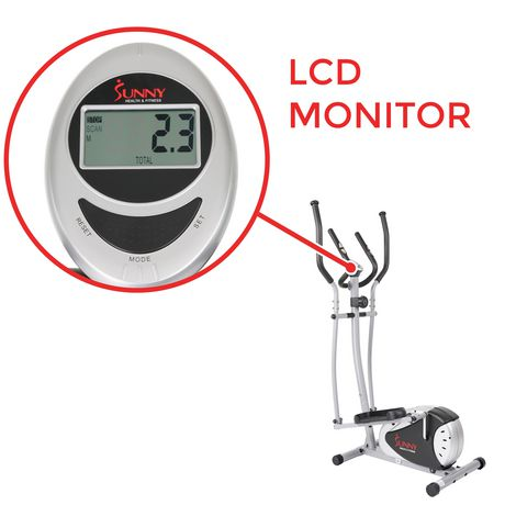 Sunny Health & Fitness SF-E905 Magnetic Elliptical Trainer - image 4 of 8