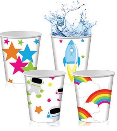 Gobelets en papier aux motifs pour enfants de GoodtimesMC pour salle de bain - image 2 de 2