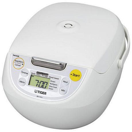 Cuiseur/réchauffeur de riz Tiger de 10 tasses contrôlé au micro-ordinateur - image 1 de 2
