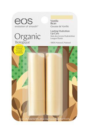 EOS Vanilla Bean Smooth Stick Lip Balm 2 Pack - image 1 of 6