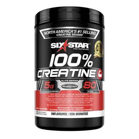 Six star 100 creatine elite series review