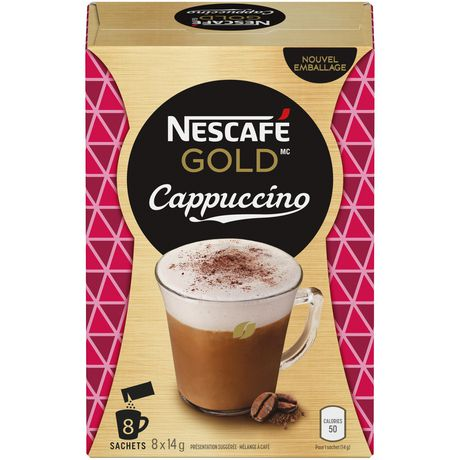 nescafÉ gold cappuccino coffee mix walmart canada