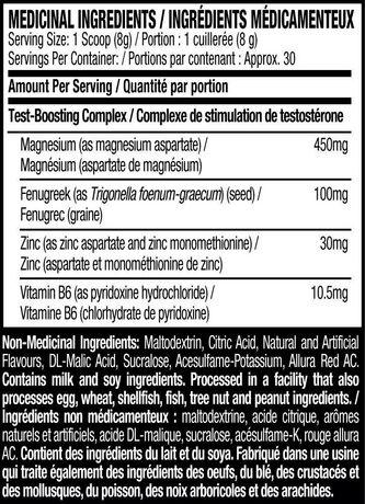 Stimulant de testostérone en poudre Fruit punch de Six Star - image 4 de 4
