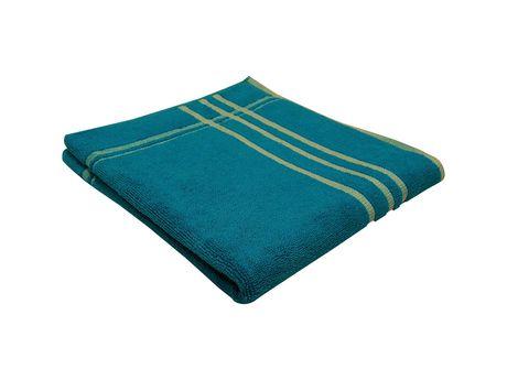 MAINSTAYS PERFORMANCE OVERDYED PLAID BATH TOWEL - image 1 of 1