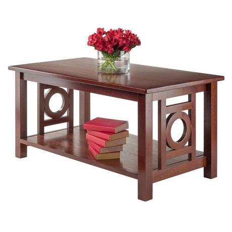 Winsome Ollie Coffee Table In Walnut 94037 Walmart Canada